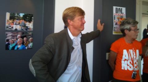 Miljöminister Andreas Carlgren i Malmö, 2010-08-24
