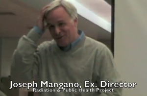 Joseph Mangano seems happily surprised that people once again are falling for his junk science.