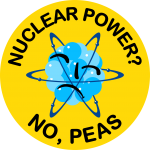 The first version of the new Nuclear Power No Please logotype.