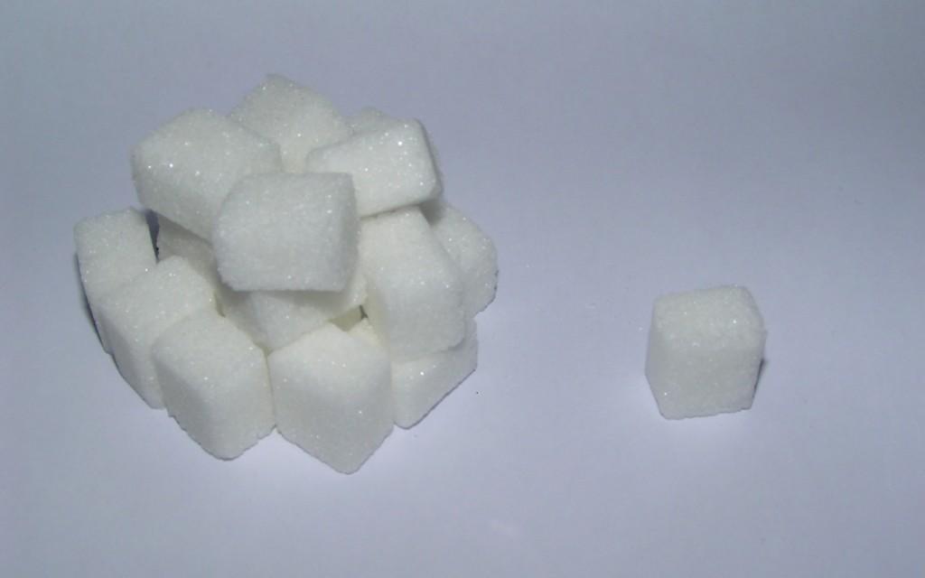 """20 sockerbitar motsvarar """"din"""" volym uran, under hela ditt liv."""