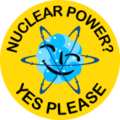 This blog supports nuclear power