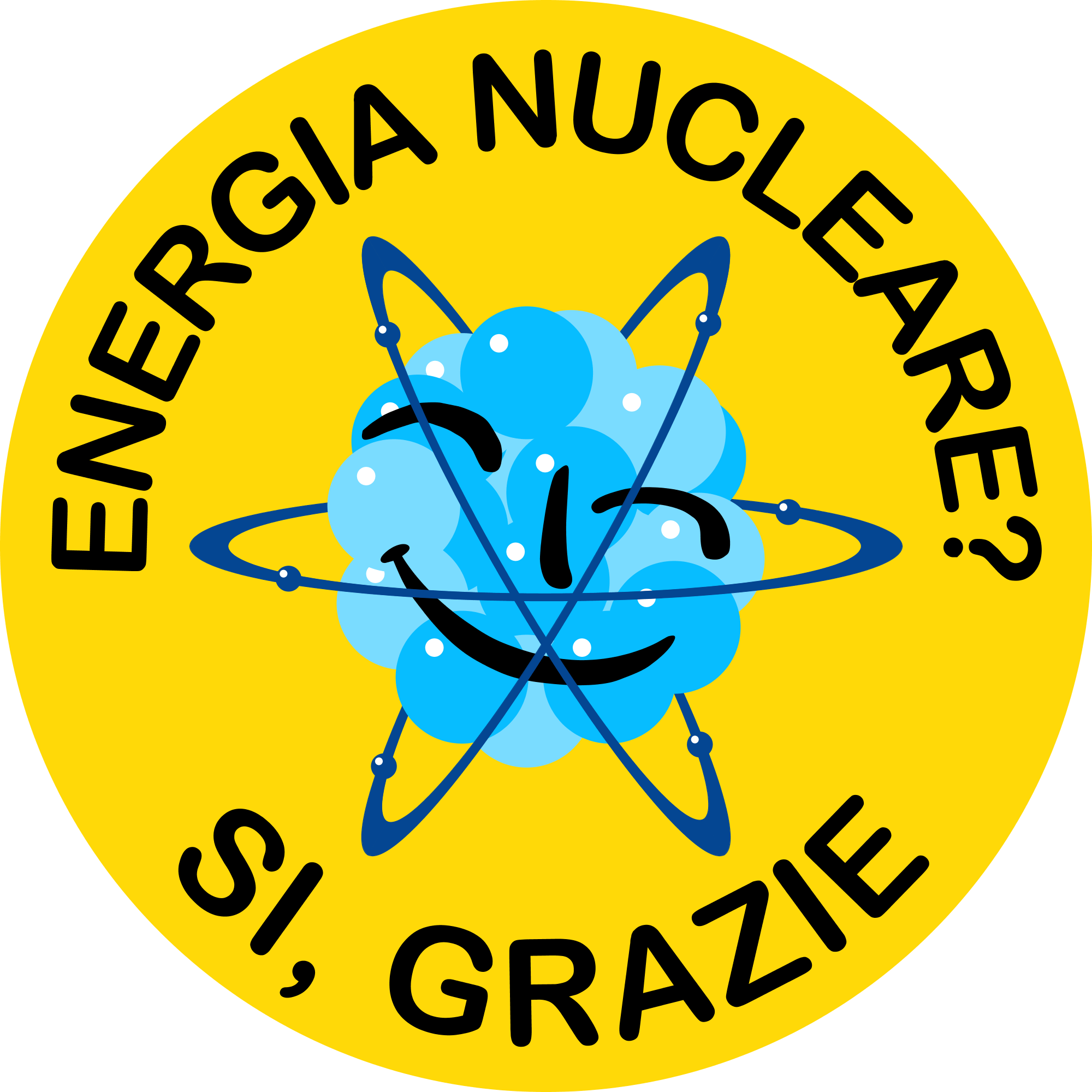 Nuclear Power? Yes Please - Downloads - Italian - Italiano Smiling